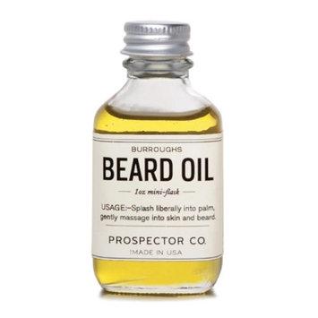 Prospector Co. Burroughs Beard Oil 0.5oz Dropper