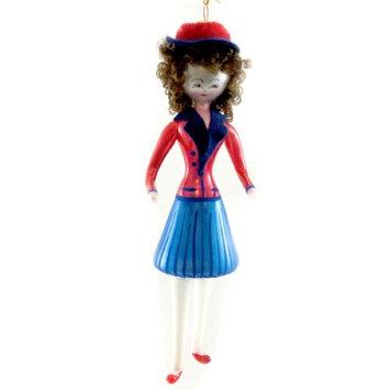 De Carlini Lady Of 40'S Sailor Dress Ornament Uniform, 6.75 in. - DO7378