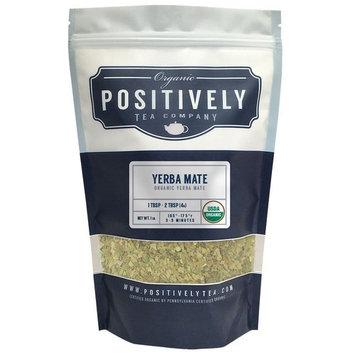 100% Organic Yerba Mate Tea, Loose Leaf Yerba Mate, Bulk 1 Pound Bag, Positively Tea LLC. (1 Lb.)