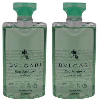 Bvlgari au the vert Green Tea Shampoo lot of 2.5oz Total of 5oz (Pack of 2)
