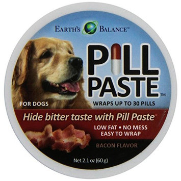 Earth's Balance Pill Paste for dogs, Bacon flavor, 2.1 oz