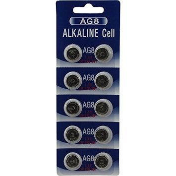 (10) AG8 391A SR1120 LR1120 LR55 SR55 or L112 Alkaline Batteries: Health & Personal Care