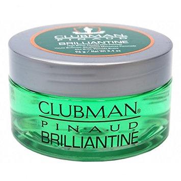 Clubman Pinaud Brilliantine Hair Pomade 3.4 oz. (Pack of 3)