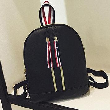 LtrottedJ Women Leather Backpacks,Schoolbags Travel Shoulder Bag