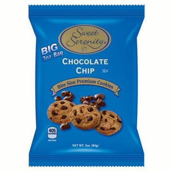 Biscomerica Sweet Serenity Cookies, Chocolate Chip, 3 Oz, 48 Ct