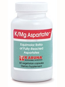 K/Mg Aspartate 60 caps by Karuna