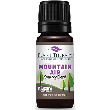 Plant Therapy Mountain Air Synergy Essential Oil 10 mL (1/3 oz) 100% Pure, Therapeutic Grade, Undiluted