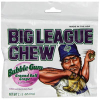 Big League Chew Bubblegum Grape, 2.12 Oz (Innerpack of 12)