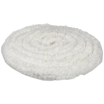 Rubbermaid Commercial FGP11700WH00 17-Inch Standard Thickness Bonnet, White (Pack of 5)
