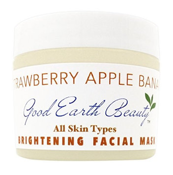 Facial Mask - Apple & Banana Brightening mask natural by Good Earth Beauty