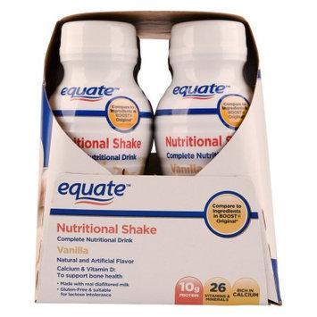 Wal-mart Stores, Inc. Equate 8 fl. oz. Vanilla Nutritional Shake, 6 pack