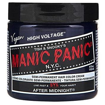 Manic Panic Semi-Permament Haircolor After Midnight 4oz by Manic Panic