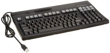 Unitech Black Wired Dual Track Keyboard