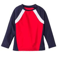 Circo Infant & Toddler Boys Red White & Blue Rash Guard Swim Shirt