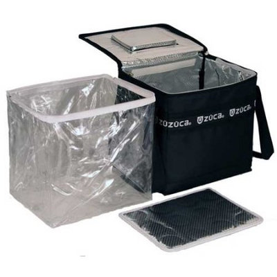 Zuca Coolzuca Cooler Bag in Black