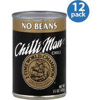 Chilli Man Chili No Beans, 15 oz, (Pack of 12)