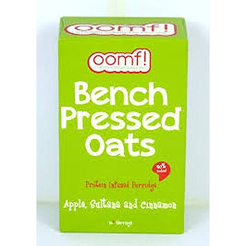 Oomf! - Bench Pressed Oats - Apple, Sultana & Cinnamon - 500g