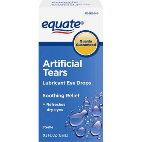 Equate Dry Eye Relief Lubricant Eye Drops, 0.5 Oz