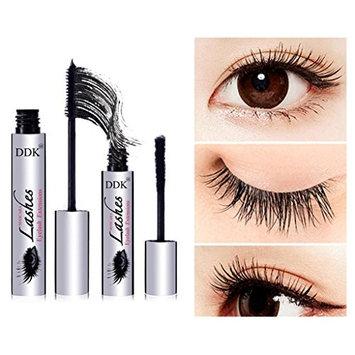 Braceus 2Pcs Waterproof Eyelashes Mascara, Anti-Smudge Lasting Silk Fiber for Women Makeup