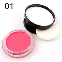Pure Vie Professional 1 Color Baked Powder Blush / Blusher Powder Makeup Palette Contouring Kit #1