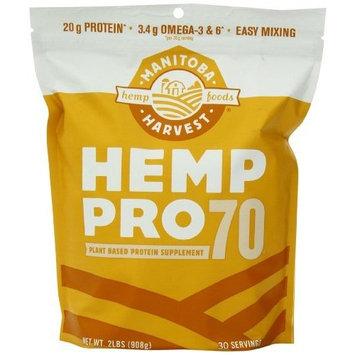 Manitoba Harvest Hemp Pro 70 Protein Powder, 32oz; with 20g Protein per Serving, Non-GMO [Hemp Pro 70]