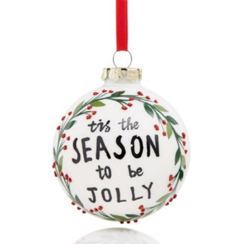 Season To Be Jolly Ornament, Created for Macy's