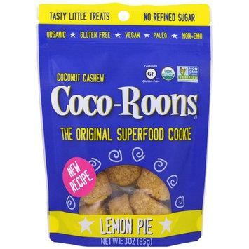 Sejoyia Foods, Coco-Roons, Chewy Cookie Bites, Lemon Pie, 3 oz (85 g) [Flavor : Lemon Pie]