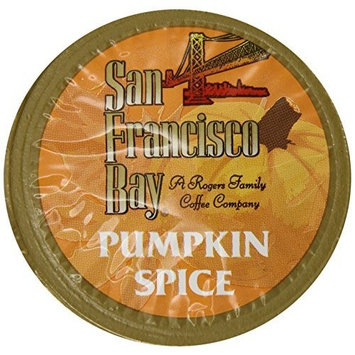San Francisco Bay OneCup Capsules, Pumpkin Spice - 72 Count (6 Boxes of 12)
