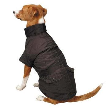 Pet Edge Dealer Services East Side Coll 3 in 1 Eskimo Dog Jacket MD Brown