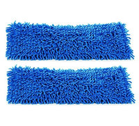 2-pack of 18' Inch Premium Chenille Microfiber Wet Mop Pads for Professional Commercial Microfiber Mops (Pack of 2)