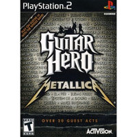 PS2 - Guitar Hero: Metallica (Software Only)