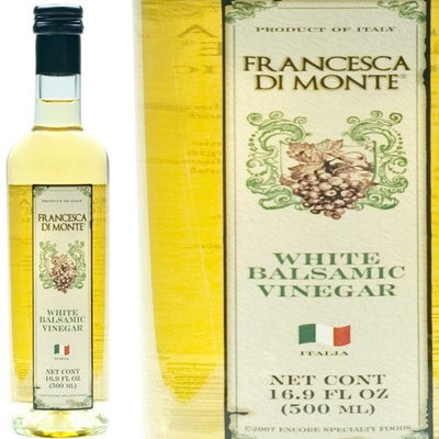 Francesca di Monte 16506 6-16.9 fl oz. White Balsamic Vinegar