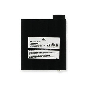 CISCO PB-ATL/G7 Replacement Battery (Ni-MH 6V 700mAh) Rechargeable Battery - replacement for MIDLAND BATT5R