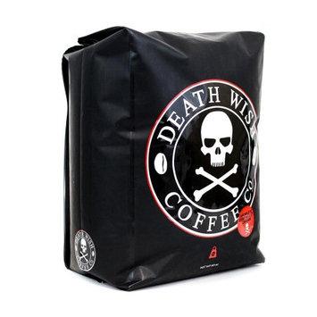 Death Wish Coffee, The World's Strongest Coffee, Fair Trade and Organic, GROUND COFFEE, 5lb Bag