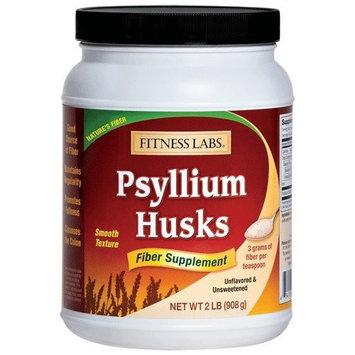 Fitness Labs Psyllium Husks, 12 Ounces