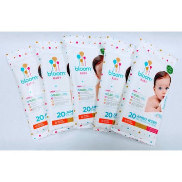 Bloom+kind bloom BABY Unscented Hypoallergenic Baby Wipes (bundle of 5 travel packs 20-count each - 100 wipes total)
