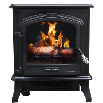 Shanghai Huangzhou Industry Co.,ltd Decor Flame Infrared Stove Heater, QCIH413-GBKP