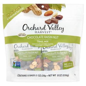 John B Sanfilippo & Son Inc Orchard Valley Harvest, Trail Mix Chocolate Raisin, 8 Oz (Pack Of 8)