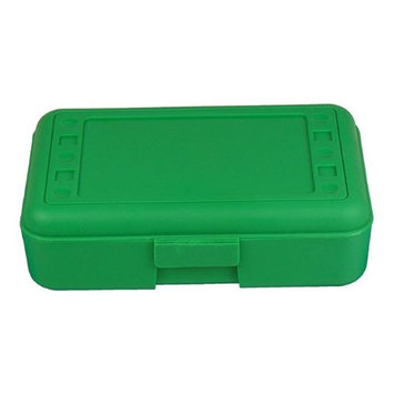 Romanoff Products, Inc. Romanoff Products ROM60205BN 8.5 x 5.5 x 2.5 in. Pencil Box Green - 12 Each