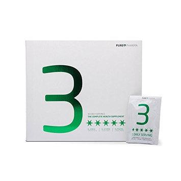 Puori3 Multipack O3+M3+D3 [ Omega 3 Organic Softgels, Vitamin D3 Gelcaps, Magnesium Caps ] 210 Capsules [ 60 Omega3, 60 VitaminD3, 90 Mg + Zn + B6 ]