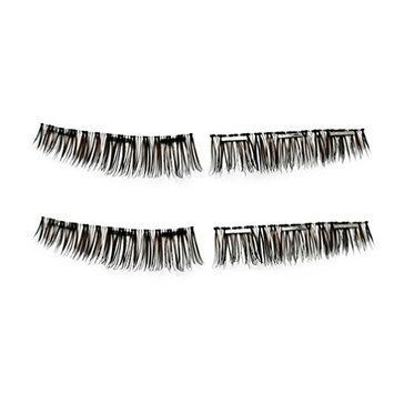 Ultra-thin 0.2mm Magnetic Eye Lashes, CSSD 3D Reusable False Magnet Eyelashes