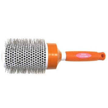 Brushlab Fresh Orange Ceramic Thermal Nylon Bristle Jumbo Hair Brush