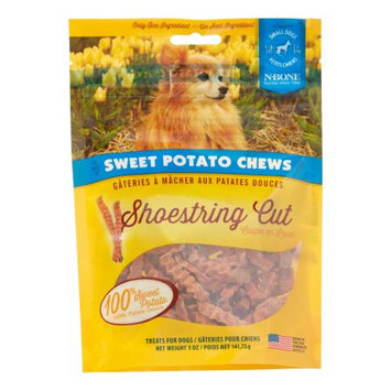 N-bone Nbone 641015 5 oz. Sweet Potato Chews Dog Treats - Shoestring Cut