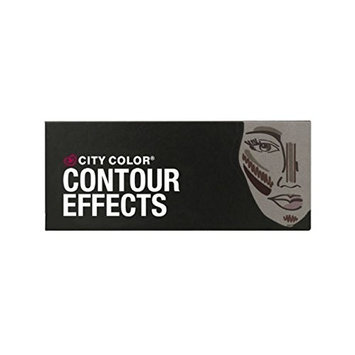 City Color Contour Effects Palette Face shadow Shimmer Bronze Highlight