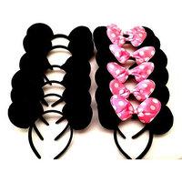 12- Mickey Mouse Headbands, Mickey Mouse Ears, Mickey Mouse Headband, Minnie Mouse Headbands, Minnie Mouse Ears