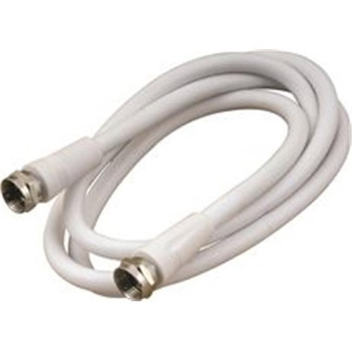 National Brand Alternative Connector Ends Coaxial Cable 75 Ohm F 25Ft White 852085 Misc. Wire 852085