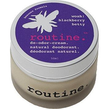 Routine De-Odor-Cream Handcrafted 50ml Clay Formula Deodorant Cream (Blackberry Betty)