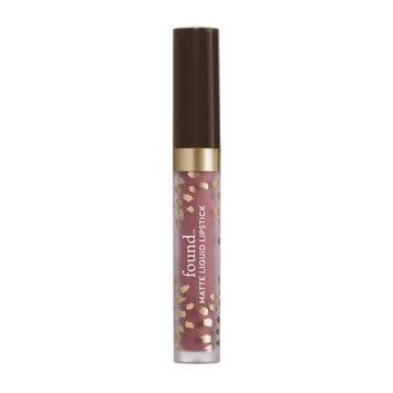 FOUND Matte Liquid Lipstick with Evening Primrose Oil, 260 Praline, 0.11 fl oz