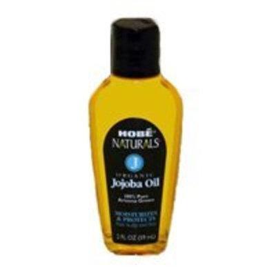 Hobe Naturals Organic Jojoba Oil, 2-Fluid Ounce (Pack of 2) by Hobe Naturals