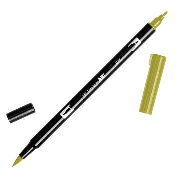 Tombow Dual Brush Marker Open Stock-076 Green Ochr